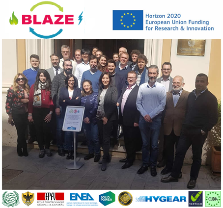 Kick-off meeting of BLAZE project