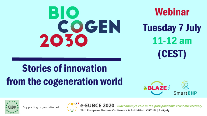 BLAZE and BIOCOGEN 2030 at the European Biomass Conference and Exhibition