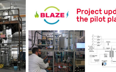 The BLAZE pilot plant