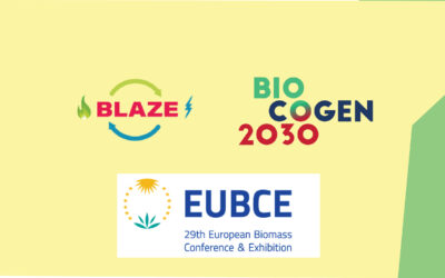 BLAZE and BIOCOGEN 2030 at the 29th European Biomass Conference and Exhibition
