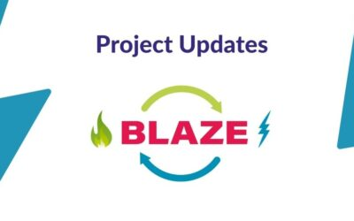Mid term results of the BLAZE project